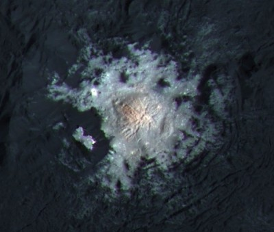 Occator Crater central spot
