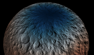 water on Ceres?