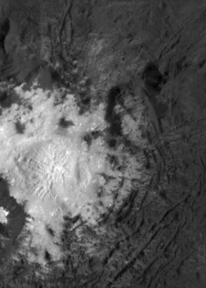 Brightest Spot in Occator Crater on Ceres