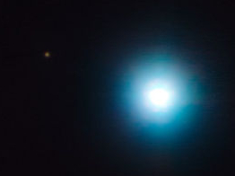 exoplanet photographed from Earth