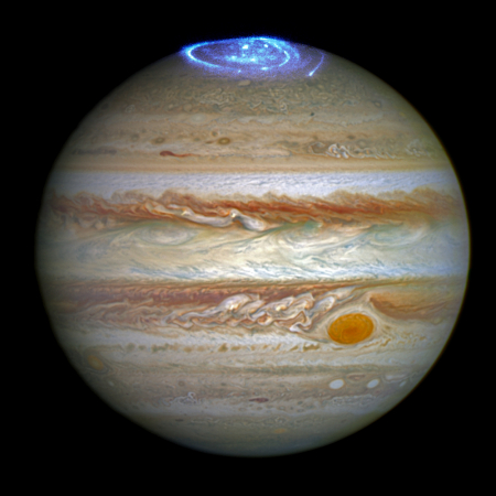 Jupiter and its aurora