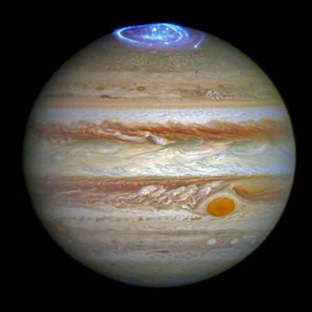 Jupiter and its aurora