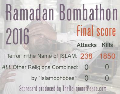 Ramadan Bombathon, 2016