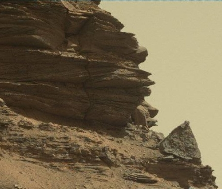 Balanced rock close-up