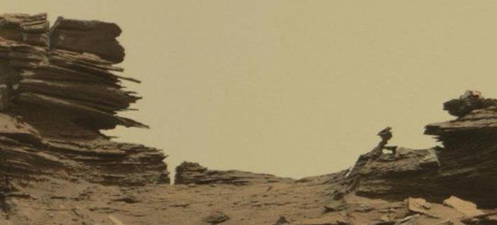 Weird Mars