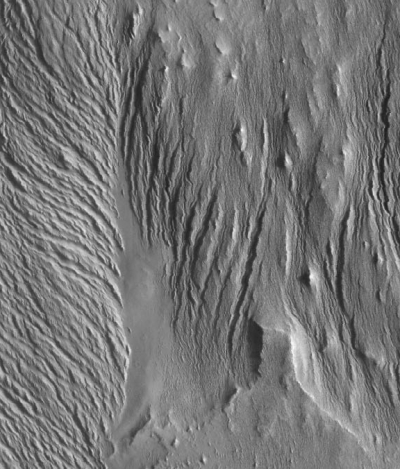 Wind erosion on Mars