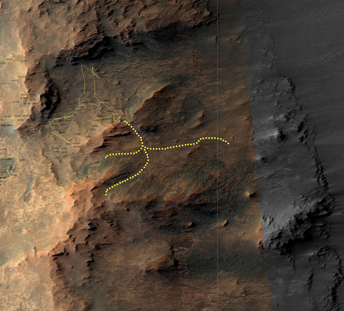 Future explorations within the rim of Endeavour Crater