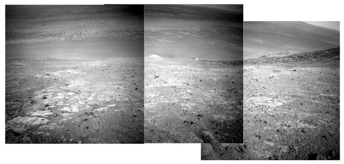 Looking east into Endeavour Crater