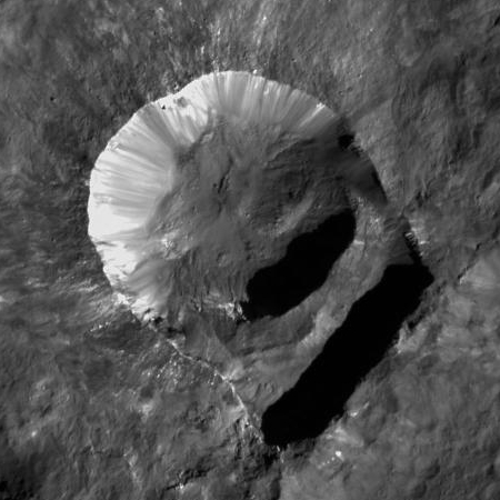 Oxo Crater on Ceres