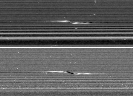 A propeller in Saturn's A ring