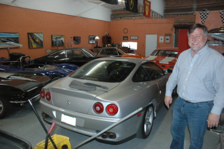 Jim Cantrell and cars