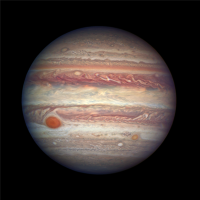 Jupiter by Hubble