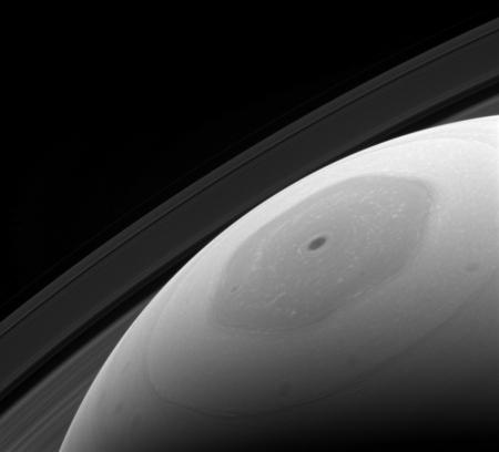 Saturn's north polar hexagon jet stream