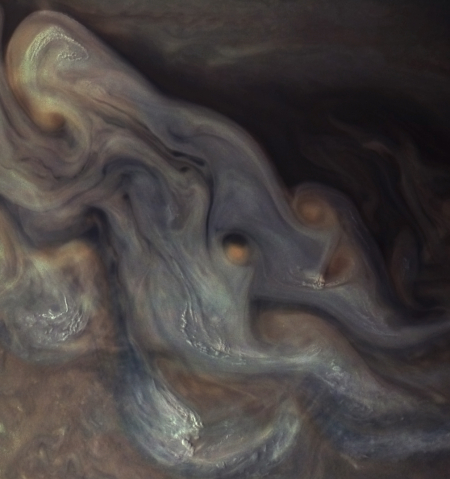 Jupiter's cloud tops