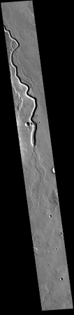 A river on Mars