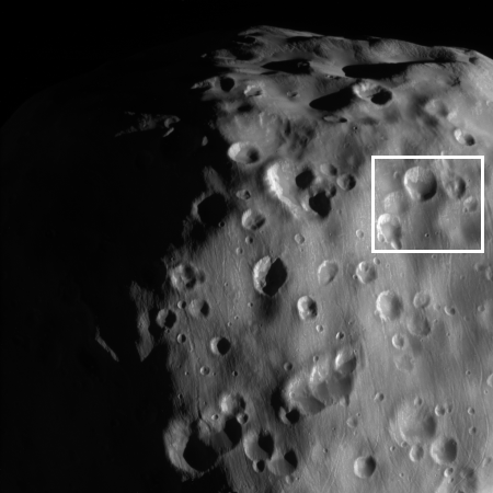 The soft craters of Epimetheus