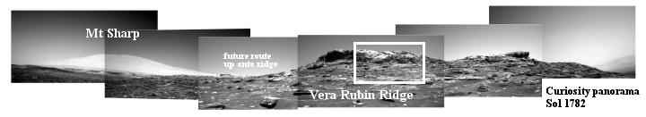 Curiosity panorama, Sol 1782