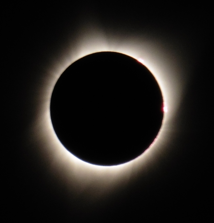The Eclipse at totality