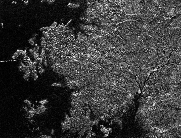 Titan's magic lake district