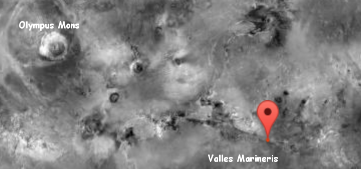 Olympus Mons and Valles Marineris