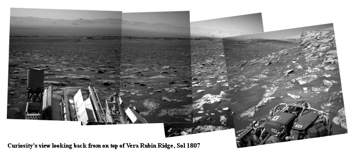 Curiosity panorama, Sol 1807