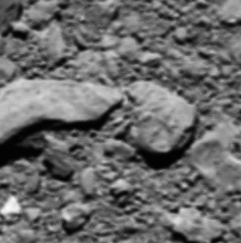Rosetta's last image
