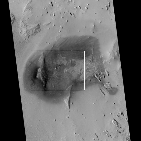 The dark splotches of Mars