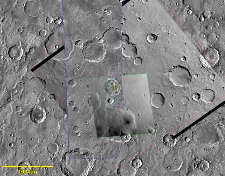 Mars as seen over the past half century
