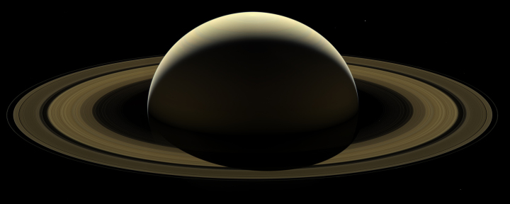 Cassini's last full mosaic of Saturn