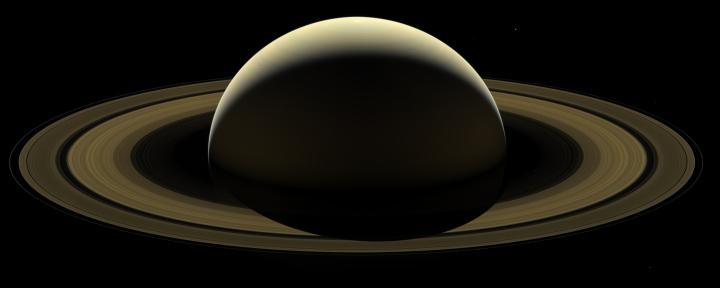Cassini's last full mosaic of Saturn