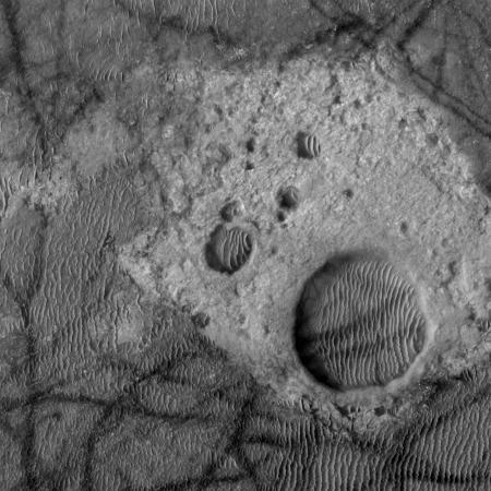 Kaiser Crater bedrock