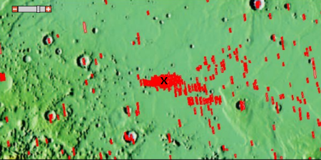 InSight's landing site on Mars