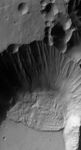 Collapse at Arsia Mons