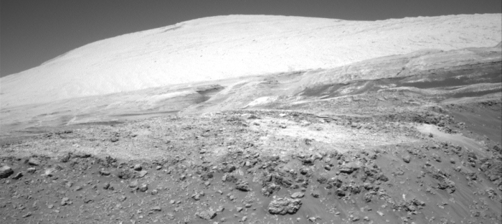 Curiosity's future travels towards Mount Sharp