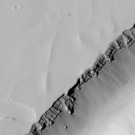 MRO close-up of Olympica Fossae