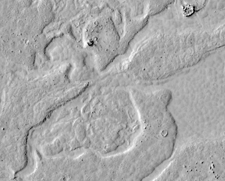 Young lava flows on Mars