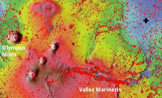 Mars context image