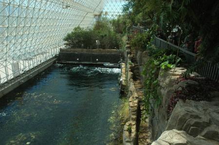 Biosphere 2's ocean