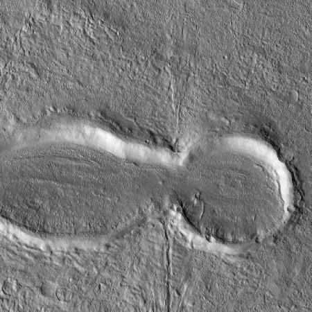 craters to the west
