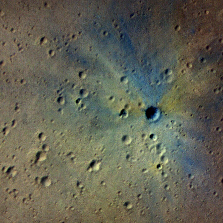 New impact crater on Mars