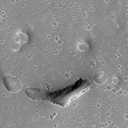 Pits, cones, and craters