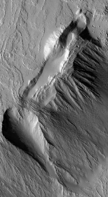 More lava flows off of Olympus Mons