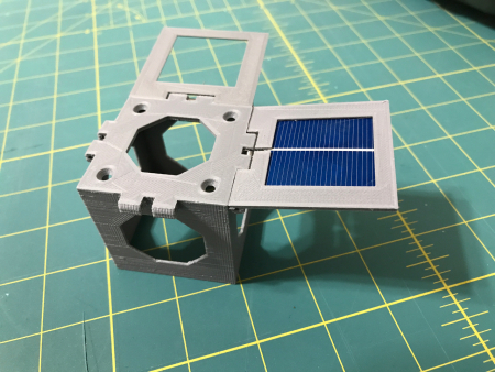 A solar panel for a cubesat