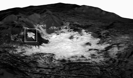 Cerealia Facula on Ceres