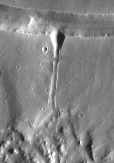 Drainage on Mars?