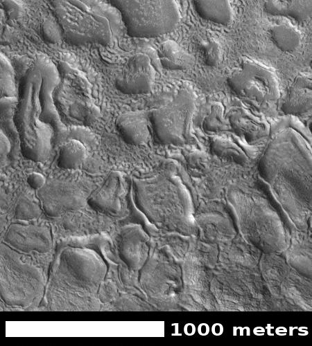 honeycombs on Mars