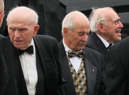 Apollo 8 astronauts Frank Borman, Bill Anders, Jim Lovell
