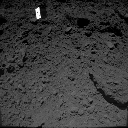 MASCOT descending towards Ryugu