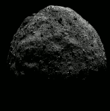 Bennu's north pole