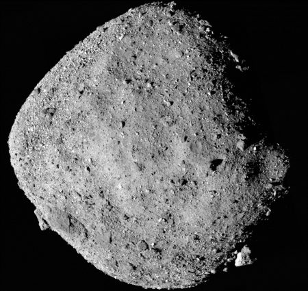 Bennu from 15 miles